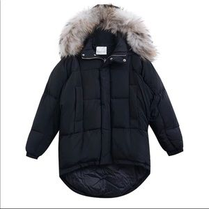 Jackets & Blazers - Moving sale!  Real fur coats for winter Black